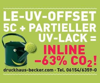 Druckhaus Becker LE-UV Offset
