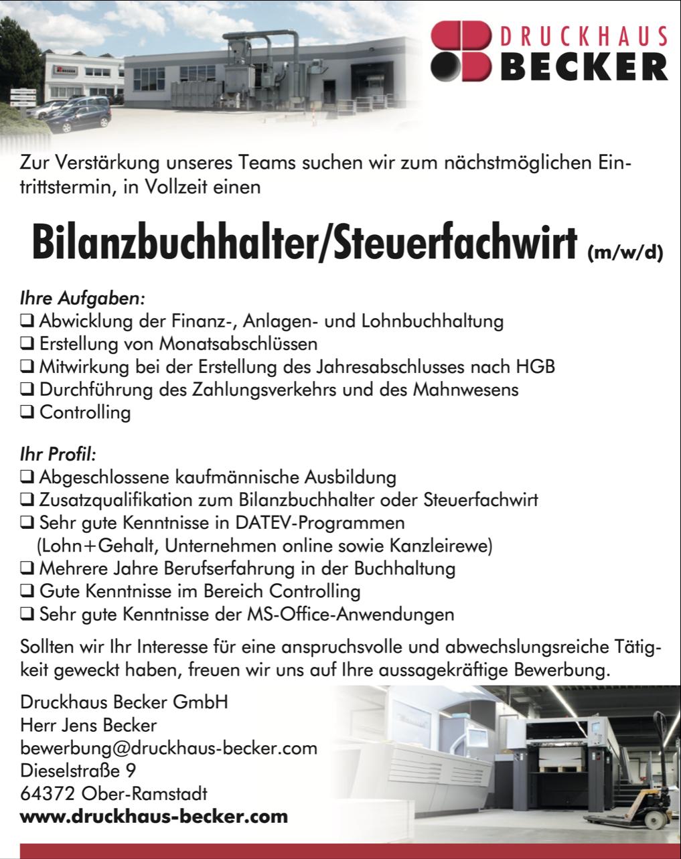 stellenanzeige-buchhalter-druckhaus-becker